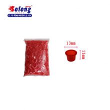 Solong tattoo disposable sterile small size tattoo ink cup