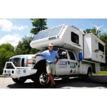 Projet d'alimentation électrique hybride éolienne et solaire