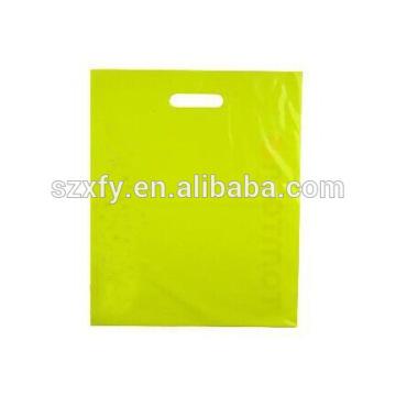 Пластиковая хозяйственная сумка с цветной печатью