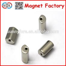 Motor Segment Neodymium Magnet coating Ni for sale