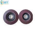 Disco abrasivo da aleta do diamante do polisher, disco abrasivo da aleta da alumina eficiente alta para a madeira
