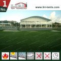 Bogen-Haube-Dach-Doppeldecker-Sport-Ereignis-Zelt mit Galss-Wänden für Golf-Fälle
