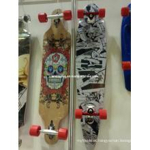 Long Skate Et-Lb008 2014 Skates Longo Completo Longboard Skates Profissional Líder Fabricante