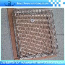 SUS 316 Vetex Mesh Basket