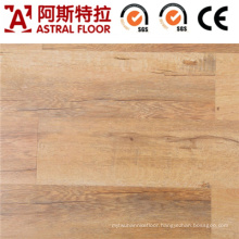 12mm HDF Handscraped Grain Laminate Flooring (AS0007-1)