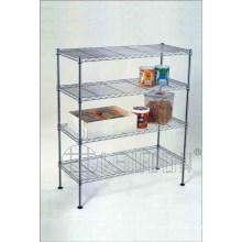 4 Tiers Chrome Carbon Steel Kitchen Metal Wire Rack (CJ-C1114)
