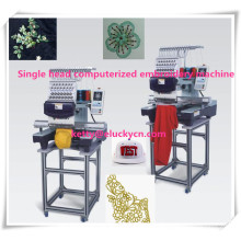 New Type more stable Single head computerized embroidery machine for cap/shoe/garment embroidery