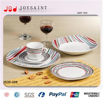 Placas de sobremesa cerâmicas de Dinnersets do projeto novo da fábrica de China para o uso do hotel