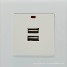 Gute Qualität USB Mains Wall Ladegerät Single Double Socket Universal Steckdose
