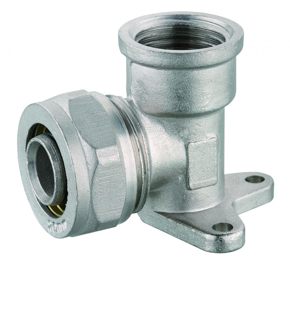 PEX AL PEX pipe compression fitting