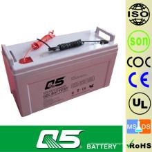 12V120AH Batería solar Batería GEL Productos estándar