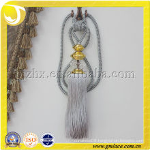 2013 Hot Product,Curtain Tieback with Crystal Beaded Decorative Tassel Stock