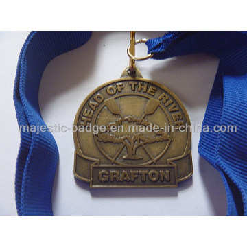 Zinc Die Cast Antique Bronze Plating Medallion