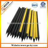 Pencil factory Promotions black wooden pencils,Diamond HB pencils