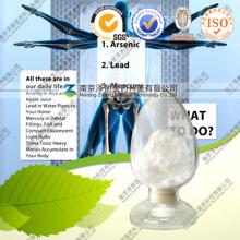 Fabricant Détoxification des métaux lourds 99% Dmsa 2, 3-Dimercaptosuccinic Acid