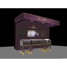 Heißer Verkauf hölzernen Display Uhr Kiosk