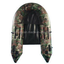Small Light Camouflage Fishing Boat for Sale in Good Price