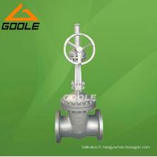 Valve de porte en acier coulé API (GAZ41H)