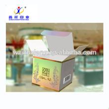 Boîtes d'emballage cosmétiques de papier d'origami de fantaisie de vente chaude de 2017, parfum d'emballage de boîte de papier