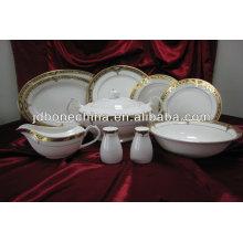 Existencias 46 piezas de vajilla de India existencias fino hueso china
