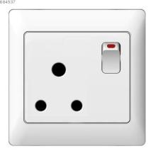 15A 3 round pins socket