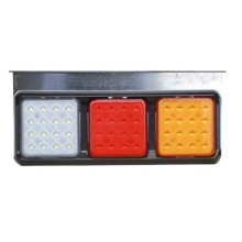 DOT ECE Approved LED Tail Stop Turn Reverse Combination Light, Waterproof, Heavy Duty