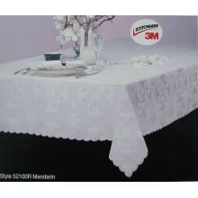 Mantel Jacquard de tela impermeable TP-002
