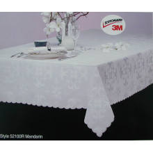 Jacquard Fabric Tablecloth Waterproof T-P-002