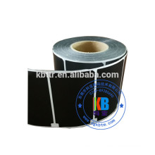 Printed blank barcode label adhesive sticker
