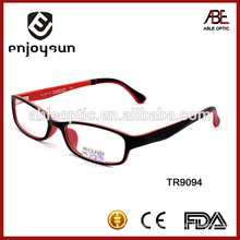 2015 high quality fashion style tr90 optical glasses