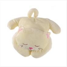 Удобная плюшевая подушка для кошек