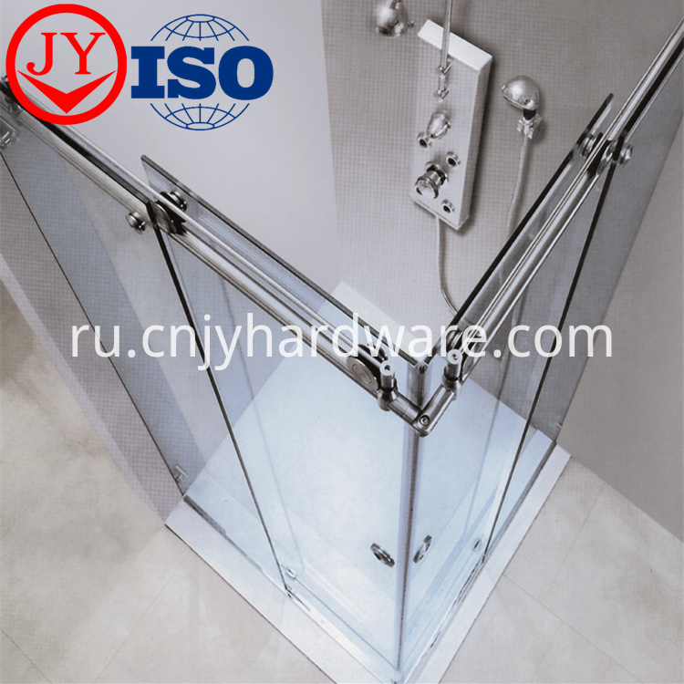 Top Class Enclosed Simple Sliding Door Shower
