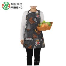 100% cotton custom logo cleaning kitchen apron for cooking/ baking