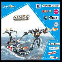 Special Offer! Intelligence products for kid plastic army toy yacht prices block set