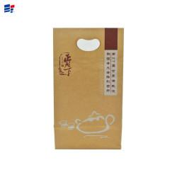 Corrugated paper packaging tea bag
