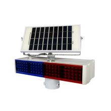 Luz de advertencia de tráfico solar LED