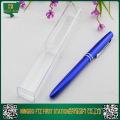 Caixas plásticas de canetas baratas a atacado