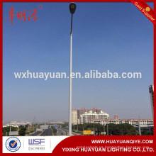 10m galvanized steel tubular pole para la venta