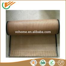 Presse vulcanisante à chaud ptfe téflon enroulé en fibre de verre tapis convoyeur