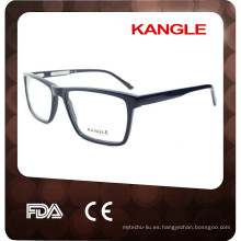 La alta calidad del estilo de Italia encuentra CE FDA con las gafas del marco del acetato de la bisagra de la primavera