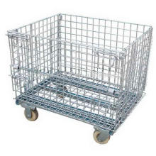 Cage de roulement de transport pliable