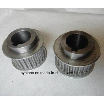 Rueda de polea de aluminio con mecanizado CNC