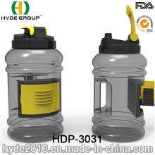 2.2L Christmas BPA Free Big Plastic Water Bottle, Customized PETG Plastic Sport Joyshaker Bottle (HDP-3031)