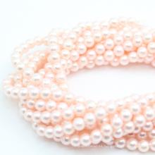Perla de la madre del grano de la cáscara natural 3-14mm gradualmente collar redondo perlas sueltas DIY de la piedra preciosa