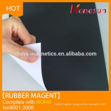 customized rubber magnet sheet PVC covered magnet sheet