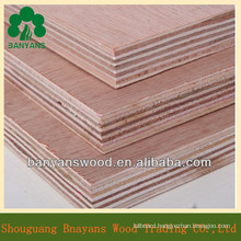 Hardwood Core Red Oak Veneer Faced Commercial Plywood