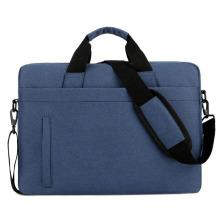 Customized logo laptop shoulder bag men's portable computer bag