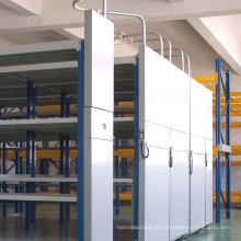 Rack de Mobilidade Manual de Serviço Leve / Solução de Armazenamento de Biblioteca de Múltiplas Camadas