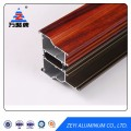 Wood grain thermal break aluminum profile for window