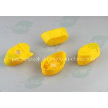 Oval Shape Plastic Silicone Valve Cap (PPC-PSVC-010)